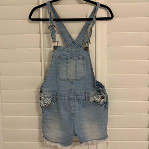 Justice shorts overalls (BUY 3 ITEMS FOR $15)